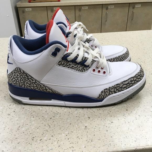 2557c8b2ccee49 Jordan Other - True Blue Jordan 3 s